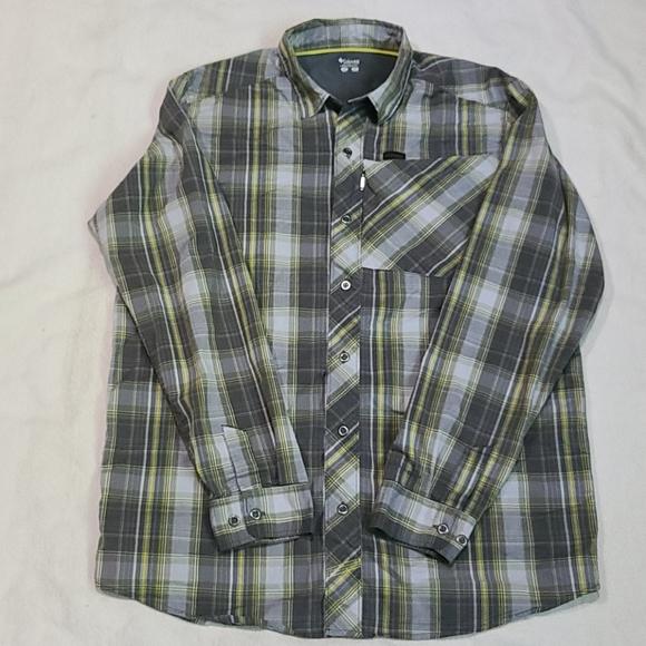 Columbia Long-sleeve Light-weight Shirt Men's Sz M